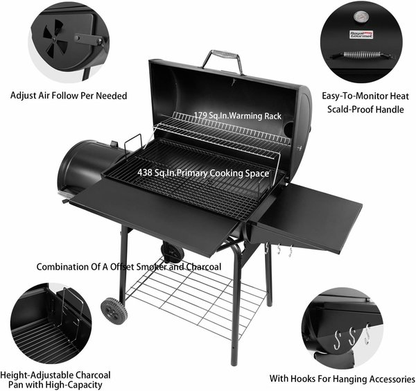 Royal Gourmet BBQ Charcoal Gril review