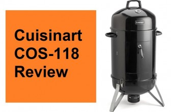 Cuisinart COS-118 Vertical 18″ Charcoal Smoker Review